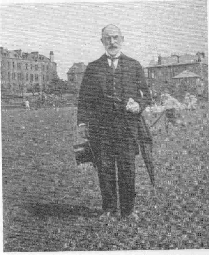 Headmaster at club 1928