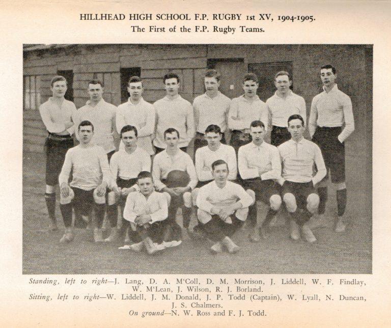 Hillhead First Gents Rugby Team