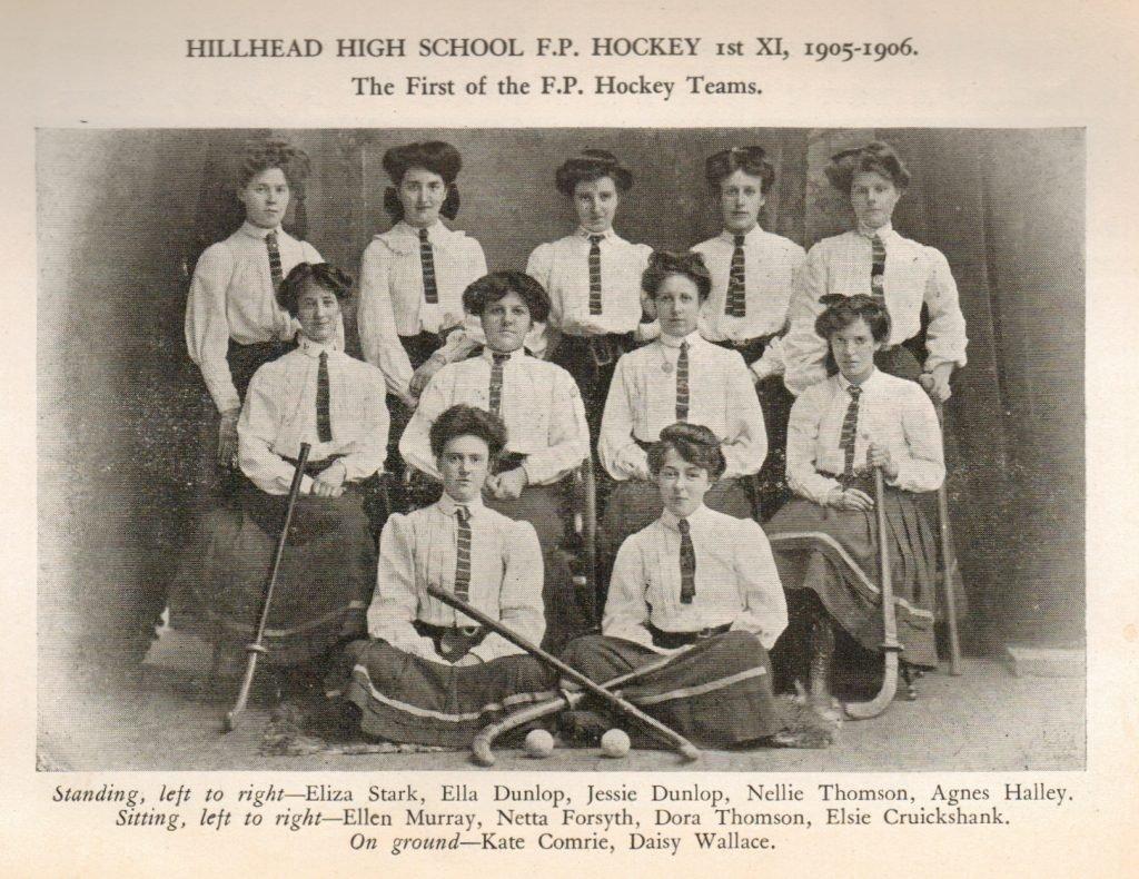 Hillhead First Ladies Hockey Team
